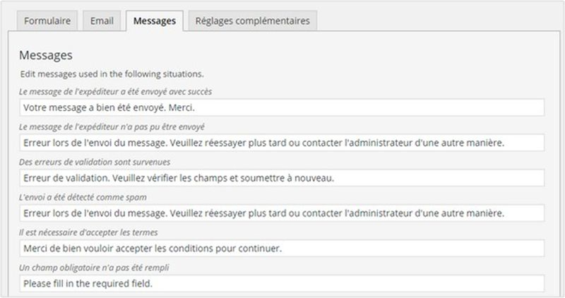 Comment installer le plugin Contact Form 7-2
