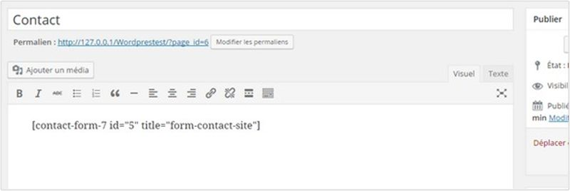 Comment installer un formulaire de contact sur WordPress-2