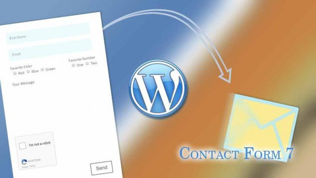Installer un formulaire de contact sur Wordpress via le plugin Contact Form